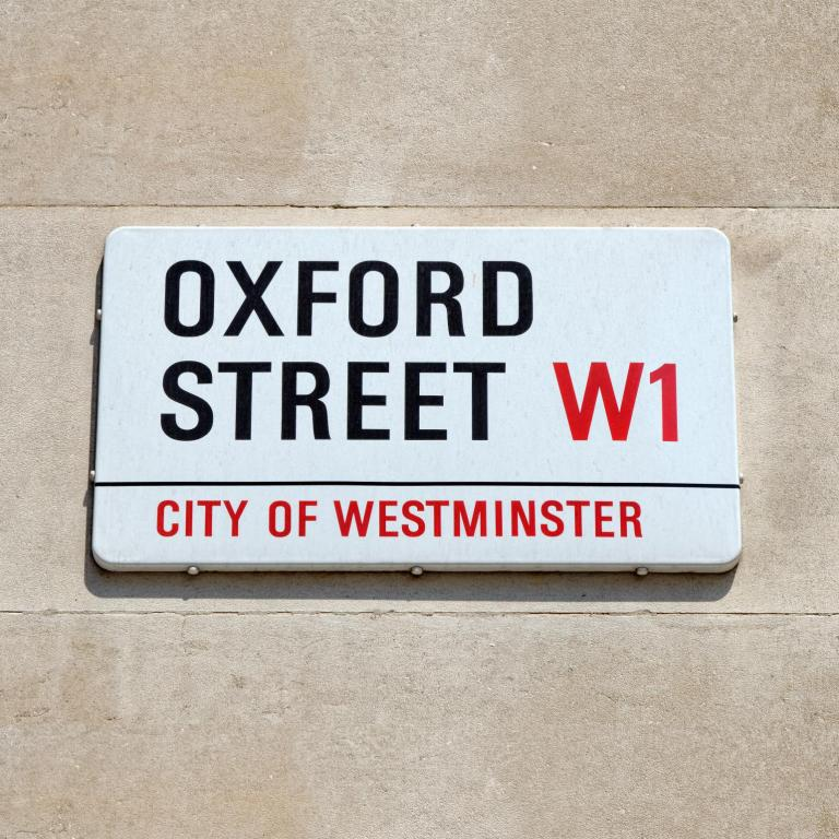 Oxford Street roadname load