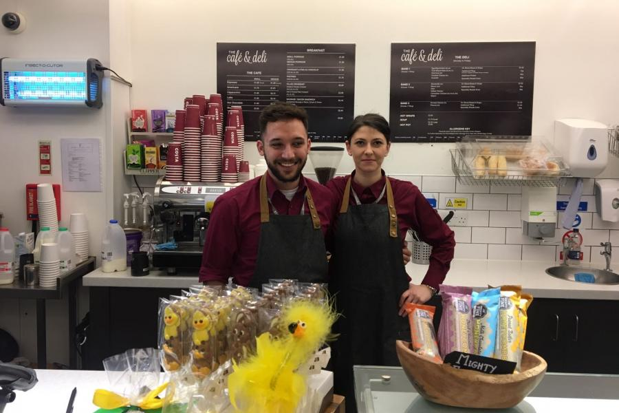Costa Coffee Team load